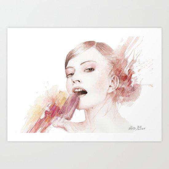 Summertime dizziness Art Print
