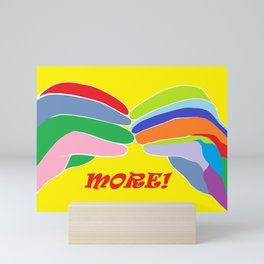 American Sign Language MORE Mini Art Print