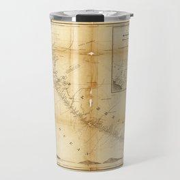 Map of Liberia (1870) Travel Mug