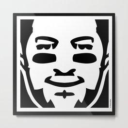 The Tebow Mark Metal Print