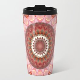 Mandala Teenage Girl Travel Mug