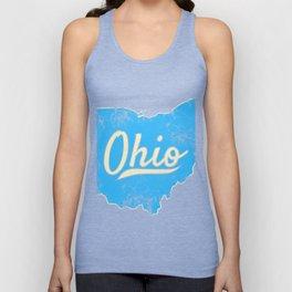 Ohio Gift I Love My Ohio Home Cleveland Cincinnati Akron OH Unisex Tank Top