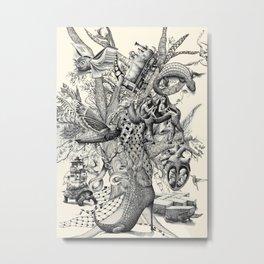 Tree of Wonders Metal Print