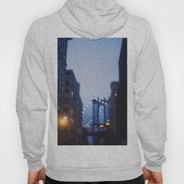 Manhattan Bridge at Night II Hoody