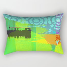 Boating experience Rectangular Pillow