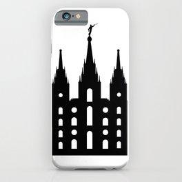 Mormon Style Temple iPhone Case