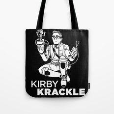 Kirby Krackle - Dancing Baby Groot Tote Bag