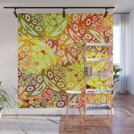 Fruity geometric abstract Wall Mural