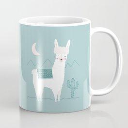 Alpaca In The Mountains Coffee Mug