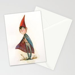 Autumn Gnome Child Stationery Cards