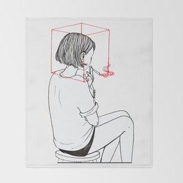 Habit Breaking Throw Blanket