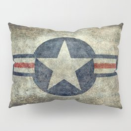 US Air force style insignia V2 Pillow Sham