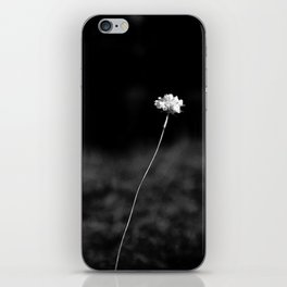 THE LAST FLOWER iPhone Skin