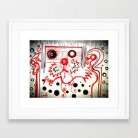 beard Framed Art Prints featuring Beard by hARMONIEjoy