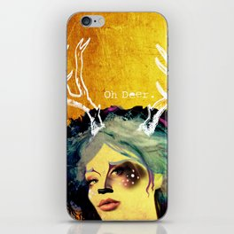 Oh Deer! iPhone Skin