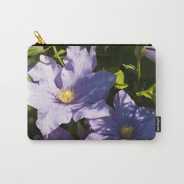 Clematis Bloom Carry-All Pouch