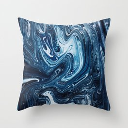 Gravity III Throw Pillow