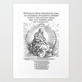 The Life Of The Virgin Art Print