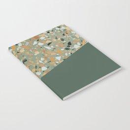 Terrazzo Texture Military Green #4 Notebook