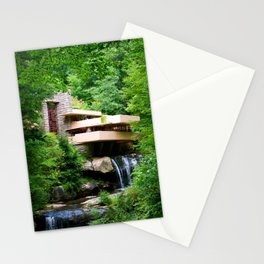 Frank Lloyd Wright's Fallingwater Stationery Cards
