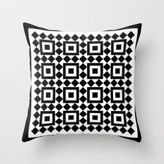 Victorian tile pattern #1 Throw Pillow