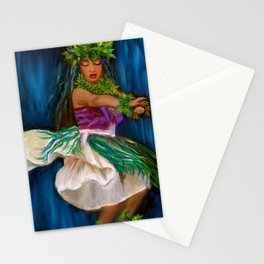 Merrie Monarch Hula Stationery Cards
