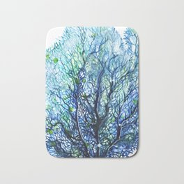Sea Fan - Aqua Bath Mat