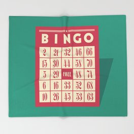 Bingo! Throw Blanket