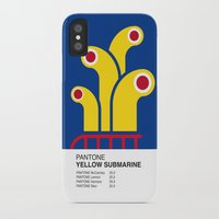yellow submarine iPhone & iPod Cases featuring Pantone YELLOW SUBMARINE by Alberto Lamote de Grignon