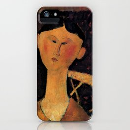 "Amedeo Modigliani ""Beatrice Hastings"" 1915 iPhone Case"
