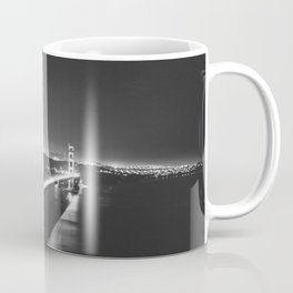 B/W San Fran Nights Coffee Mug