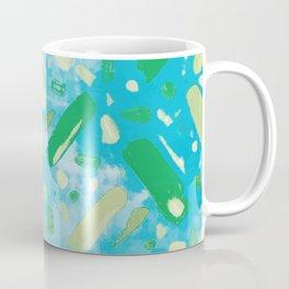 Festivities - Turquoise Coffee Mug