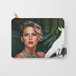 Jennifer Lawrence - Celebrity Art Carry-All Pouch