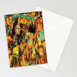 Untitled Abstract - Taunting Jester Stationery Cards