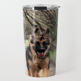 Fluffy Puppy Love Travel Mug