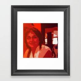 Mom's Smile Framed Art Print