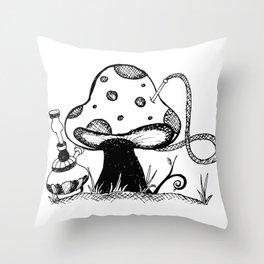 Absolem's Shroom Throw Pillow