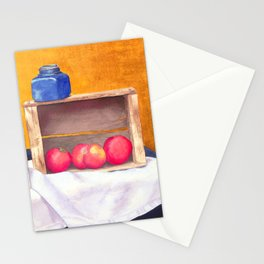 Blue Inkwell + Early Tomatoes Stationery Cards