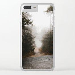 Wild path Clear iPhone Case
