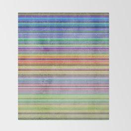 Stripes I Throw Blanket