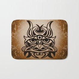 Vicious Tribal Mask Snakeskin 005 Bath Mat