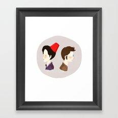 Day of the Doctor Framed Art Print