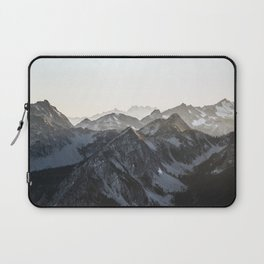 Mountains in Winter Laptop Sleeve