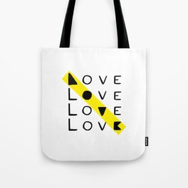 LOVE yourself - others - all animals - our planet Tote Bag