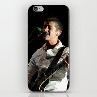 arctic monkeys iPhone & iPod Skins featuring Alex Turner // Arctic Monkeys by Hattie Trott