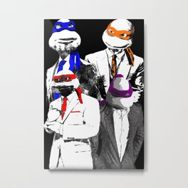 Bringing Sexy Back to the Sewers Metal Print