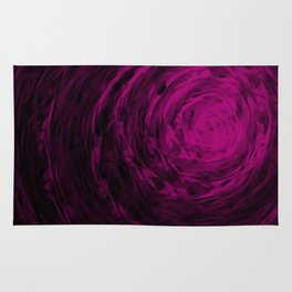 Organic Spiral - Purple Rug