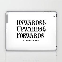 Onwards&Upwards&Forwards Laptop & iPad Skin
