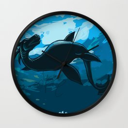 Loch Leviathan Wall Clock