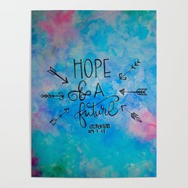 Hope and a Future Poster